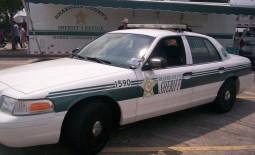 Brazoria County Sheriff Cruiser