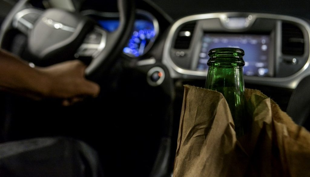 Beer In Car