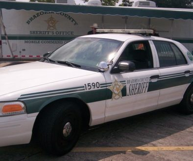 Brazoria County Sheriff Cruiser